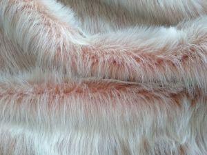 Umělá kožešina metráž, oděvní, perlet'ová, vlas 50 mm, š. 149cm
