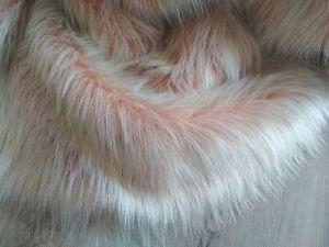 Oděvní umělá kožešina, perlet'ová, 56mm chlup, š.148cm