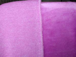 umělá kožešina, plyš fialový