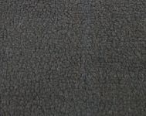 Podšívková kožešina s vlnou, černá