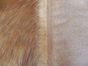 Umělá kožešina metráž, béžová, 45mm vlas, š. 149cm