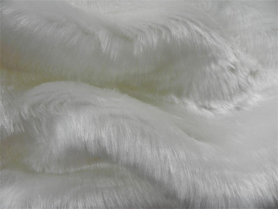 Umělá kožešina metráž, bílá, 25mm vlas, š. 145cm