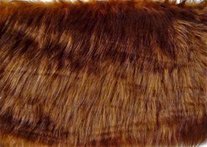 Umělá kožešina, metráž, hnědá, 45mm vlas, š. 149cm
