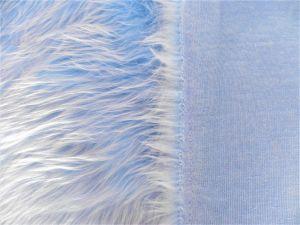 Umělá kožešina metráž, modrá, 45mm vlas, š. 149cm