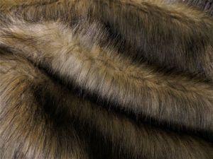 Umělá kožešina metráž, oděvní, béžová, BÉŽOVÁ LIŠKA, vlas 50 mm, š. 147cm