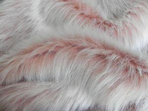 Umělá kožešina metráž, oděvní, perlet'ová, vlas 36 mm, š. 149cm
