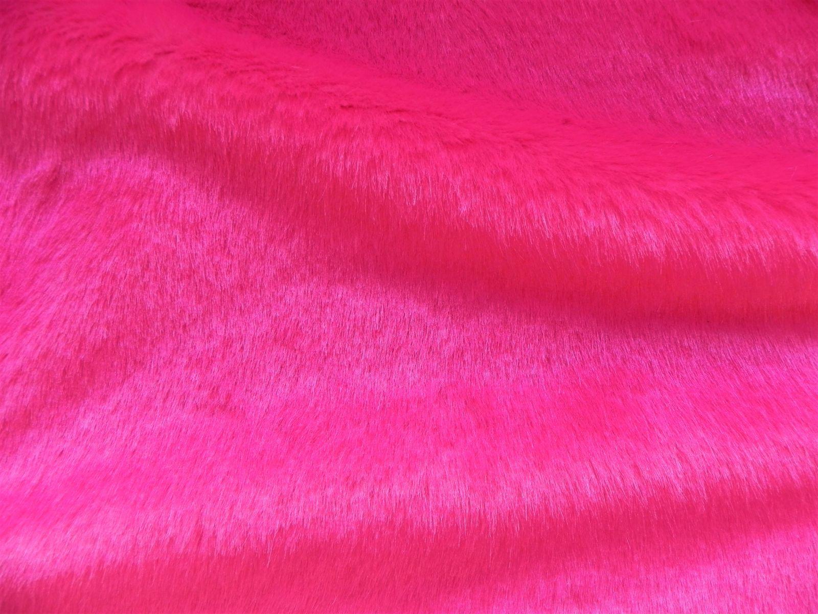 Umělá kožešina metráž, růžový norek, 18mm vlas, š. 147cm