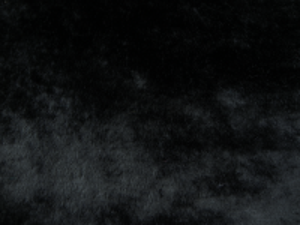 Umělá kožešina metráž, plyš, černý, 9mm vlas