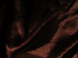 Umělá kožešina metráž, plyš, hnědý, HOŘKÁ ČOKOLÁDA, 9mm vlas