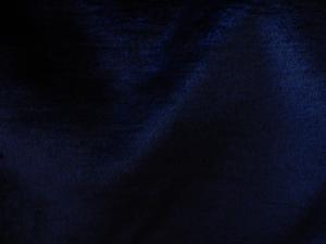 Umělá kožešina, plyš, námořnická modř, 9mm vlas, š. 150cm