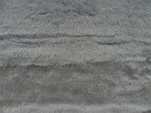 Umělá kožešina metráž, plyš, šedý, vlas 9 mm, š. 150cm