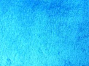 Umělá kožešina, plyš, tyrkysová modř, 9mm