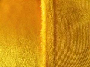 Umělá kožešina metráž, plyš žlutý, 9mm vlas, š.150cm