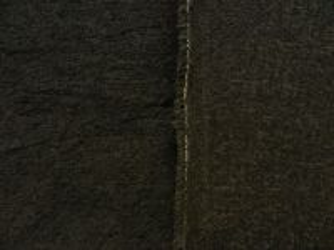 Umělá kožešina metráž s vlnou, tmavé kaki, vlas 12mm, š.146cm