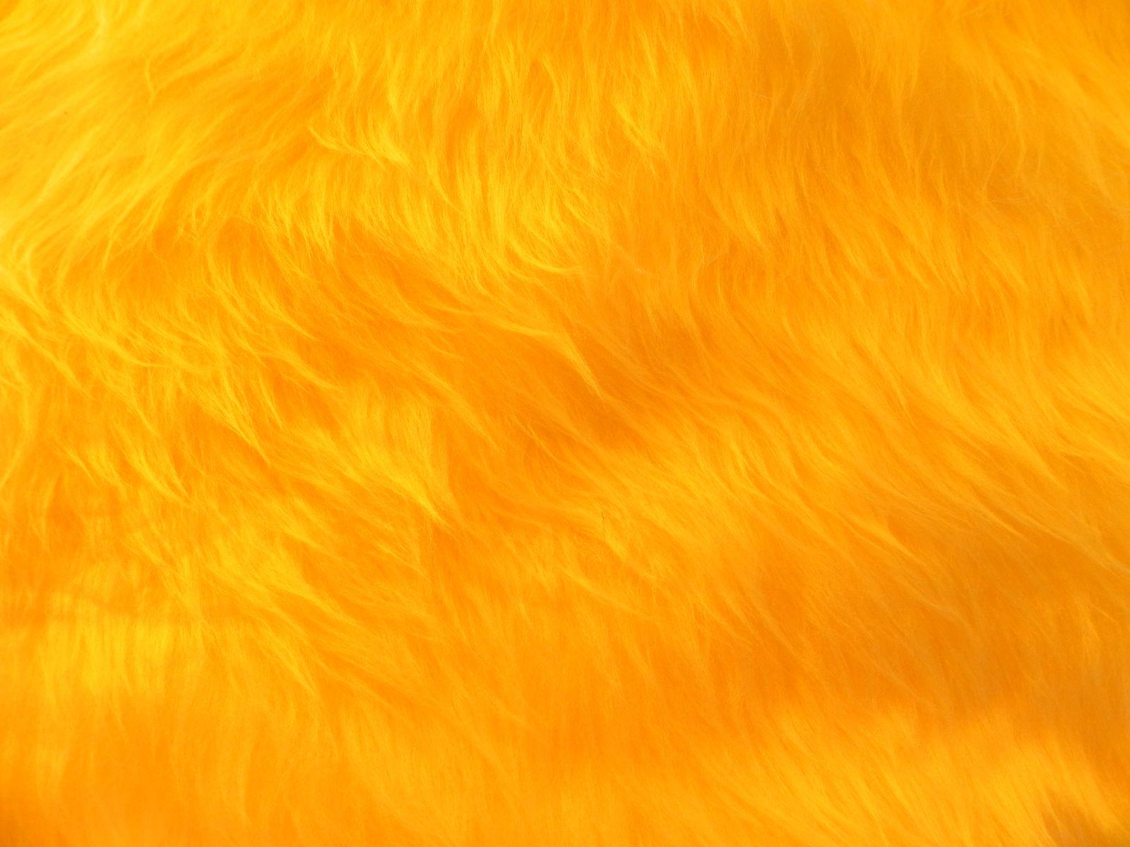 Umělá kožešina metráž, žlutá, 45mm vlas. š. 149cm